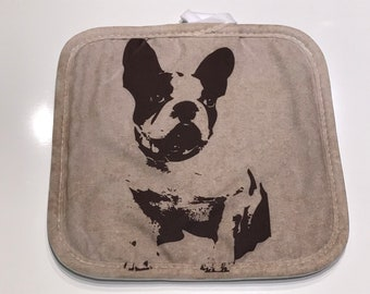 French Bulldog Hot Pad / Pot Holder
