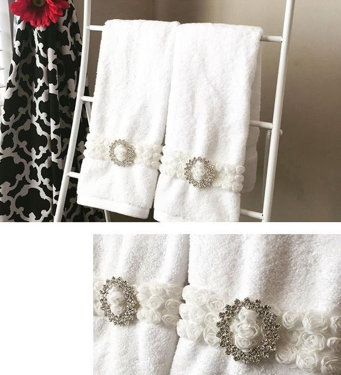decorative hook polished hand parrish sweet towe casual thumb holder place towel towels bathroom