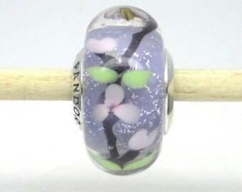 Authentic Pandora  #797014 Enchanted Garden Murano Glass