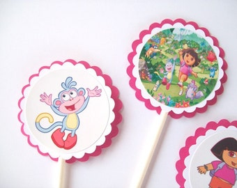 Dora birthday party Etsy