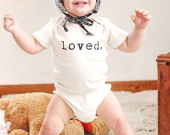 loved. bodysuit//Tenth and Pine//Organic cotton//RTS