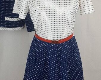 Vintage BLEEKER STREET 2pc Dress & Jacket Size 12