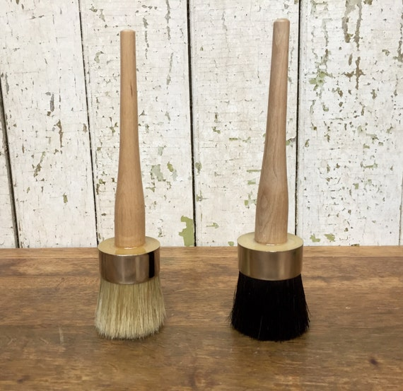 Waxing Brush - Refinishing Wood Furniture - Furniture Wax Tools - Paste Wax Brush - Clear Wax Brush - Dark Wax Brush - Furniture Wax Brush