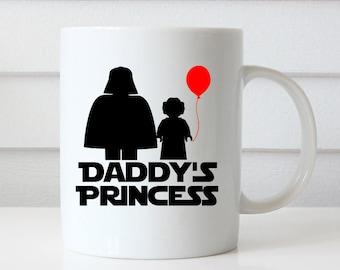 Star Wars Coffee Mug, Star Wars Mug, Star Wars Gift, Daughter Coffee Mug Daughter Gift Princess Mug Princess Coffee Mug Star Wars Coffee Cup