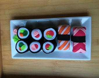 Felt Sushi Play Set - Rolls and Sashimi