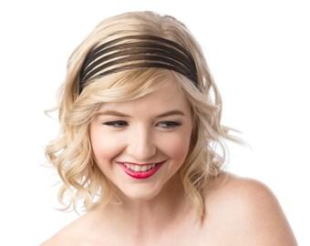 Wide Headbands For Women, Vintage Style Headband, Brown Headband, Fashion Headbands, Adjustable Headband Womens