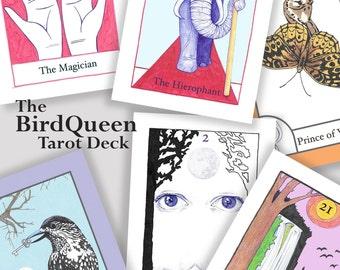 The BirdQueen Tarot Deck