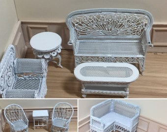 1:12 Scale Dollhouse Miniature - Porch/Sunroom Collection (pieces sold individually)