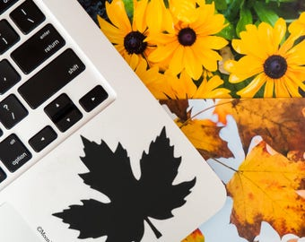 Maple Leaf                  , Laptop Stickers, Laptop Decal, Macbook Decal, Car Decal, Vinyl Decal