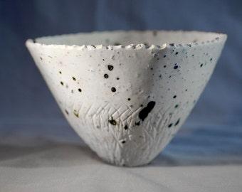 Ingrid - handmade porcelain bowl, handmade ceramic bowl, ceramic porcelain, lapid lazuli ceramics, home decor, gift idea, serving bowl, art