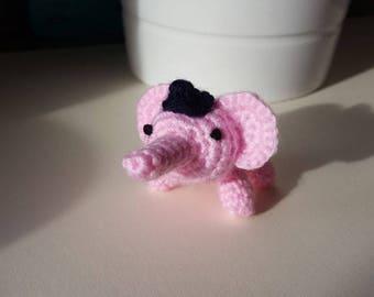 Tiny Crochet Elephant Toy