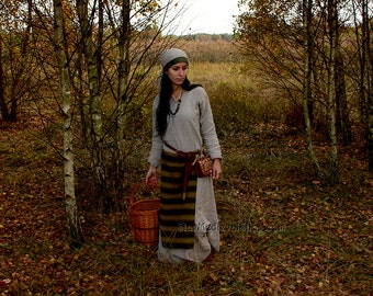 Early medieval Slavonic costume, reconstruction, great for reenactors