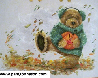 """Decorative Painting Pattern Packet """"Autumn Frolic"""""""