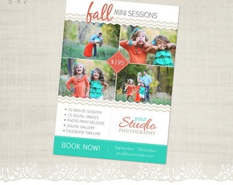 Fall Mini Session Template for Photographers - MS04