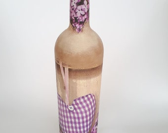 handmade romantic vintage bottle