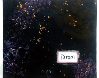 """Acrylic Canvas """"Dream"""""""