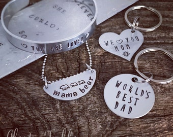 JULY 8 at 3PM:  Hand-Stamped Jewelry with Christina Tischler!