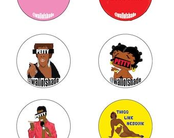 Petty Stickers