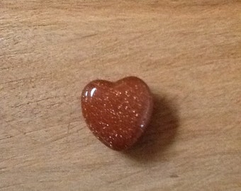 Semi-Precious Stone Heart - This Stone Heart Will Rock on Forever