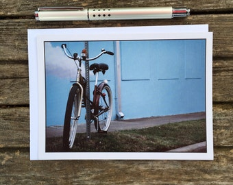 Lightning city of austin greeting cardthank you card blank cloud bike greeting card blank inside just because friend card thank you m4hsunfo