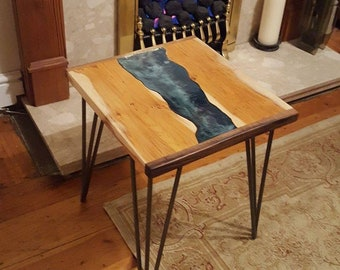 Yew tree river side table
