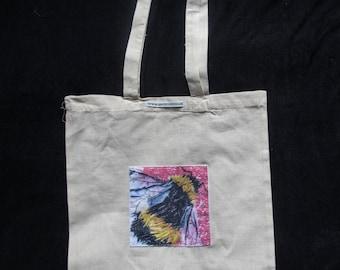 Bumblebee Art Design Tote Bag