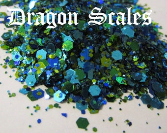 Dragon Scales Large Chunky Mix || 2oz ||