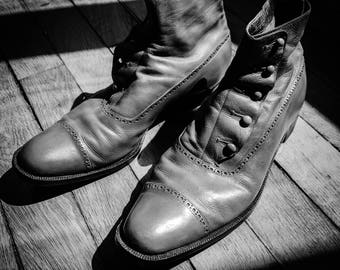 Chaussures Vintage 1942