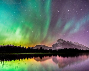 Aurora / Northern lights Fine Art Photography Print
