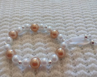 collection totally for women and girls pearl beaded bracelet