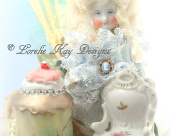 Marie Antoinette Print Fine Art Photography Art Doll Photo To Frame Digital Download