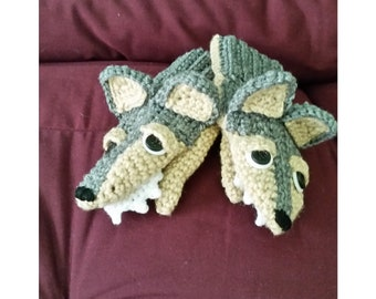 Big Bad Wolf Mittens (child's small in stock)