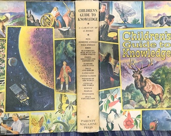 Children's Guide to Knowledge, Wonders of Nature Marvels of Science and Man by Parents' Magazine Press, 1974