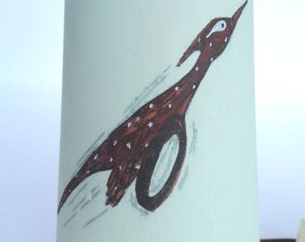 Vintage Hand-painted Hopi Wind Chime
