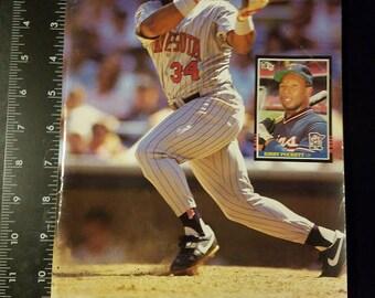 Beckett Baseball Monthly Issue # 87 Kirby Puckett  Sports