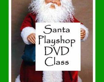 DVD CLASS: Santa Playshop - on 2 dvd's - Create Along With Maureen Carlson.