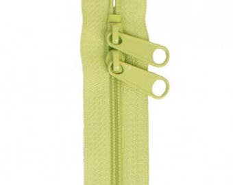 """30"""" Double Slide Handbag Zipper by Annie - Great for Bags - Chartreuse"""