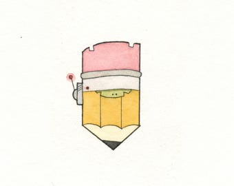 Watercolor Sketchdaily Bot