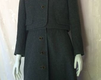 Gorgeous late 50's early 60's I.Magnin Wool Suit