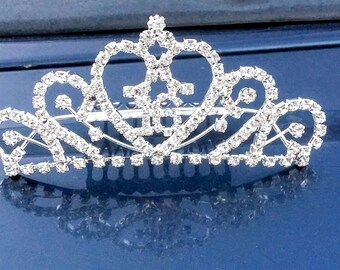 Sweet 16 tiara with comb | Sweet 16 crown | Sweet 16 hair accessory