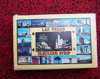 Vintage Souvenir Las Vegas Golden Nugget Casino Playing Cards Collectible Mancave Casino Cards