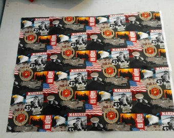 USMC Marine fabric 250136