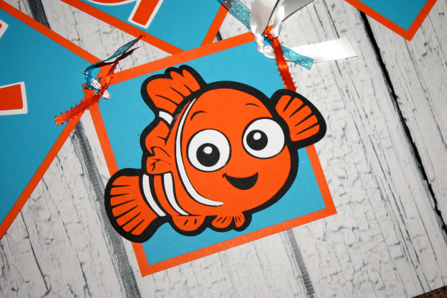 Finding Nemo Birthday Party Banner Decoration Disney