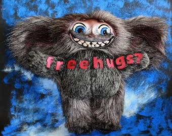 Free hugs monster