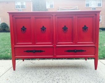 SOLD to Tyese- Beautiful Vintage Buffet or Credenza