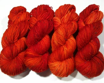 Burnished: Dyed to Order Hand Dyed Yarn - Suitable for knitting and crochet