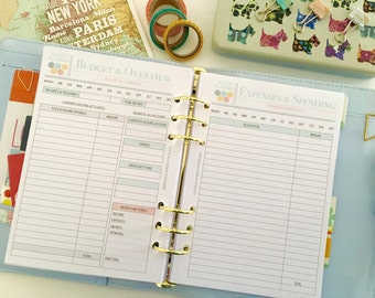 Printable Budget Planner - Budget Planner Book - Finance Planner - Budget and Finance Planner - Budget Book - Budget Plan - Instant Download