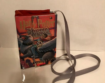 Harry Potter Book Purse Handbag~Prisoner of Azkaban Cover~Harry Potter Gift
