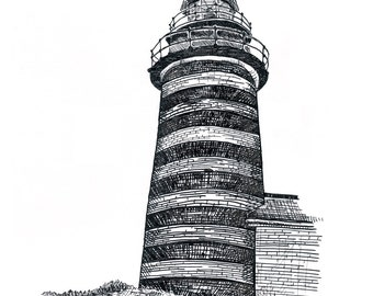 West Quoddy Head Lighthouse ~Print~