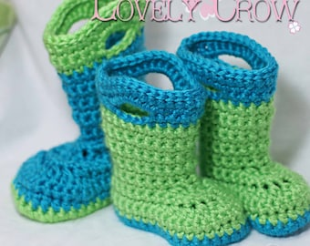 Booties Crochet Pattern   for TODDLER GOSHALOSH BOOTS digital